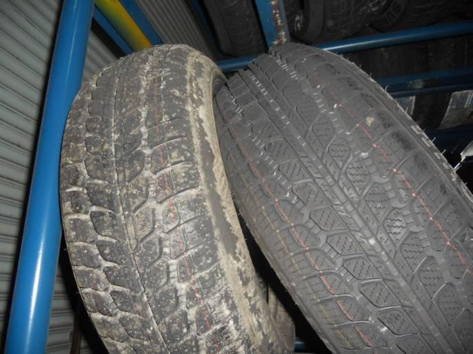 发霉的轮胎